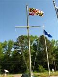 Image for Confederate Memorial Park MD Flag - Scotland MD