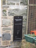 Image for Post Box, Former Post Office, Pandy, Glyn Ceiriog, Llangollen, Wrexham, Wales, UK