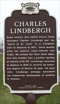 Image for Royal Airport/Charles Lindbergh Historical Marker