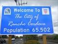 Image for Rancho Cordova -- Pop. 65,502 -- California USA