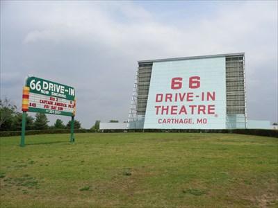 Drive-In - Carthage, Missouri, USA.