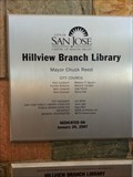 Image for Hillview Branch Library - 2007 - San Jose, CA