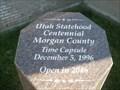 Image for Morgan County Library Time Capsule - Morgan City, UT