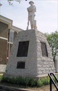 Image for Morgan County Courthouse WWI Memorial  -  West Liberty, KY