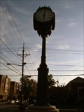 Image for Police Memorial Monument Town Clock - Haddon Heights, NJ