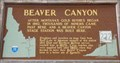 Image for #222 - Beaver Canyon