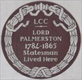 Image for Lord Palmerston - Carlton Gardens, London, UK