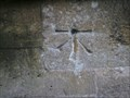 Image for Cut bench mark and bolt St Mary's Church, Stratford St Mary, Essex
