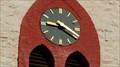 Image for Clock of the Herz Jesu Kirche Hohenheide  -  Fröndenberg, Germany