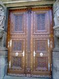 Image for Dvere Katedraly sv. Bartolomeje Plzen - Czech Republic, EU