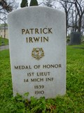 Image for Patrick Irwin - Medal of Honor recipient.