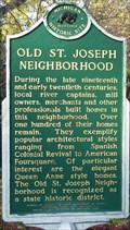 Image for Old St. Joseph Neighborhood Historical Marker
