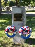 Image for Brookside Cemetery Police Memorial - Tecumseh, Michigan