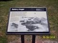 Image for Battery Huger marker at Fort Sumter / Battery Huger - Charleston, SC