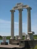 Image for Baird Point Columns at the University at Buffalo