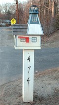 Image for Lighthouse Mailbox  -   Rye, NH