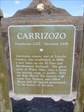 Image for Carrizozo