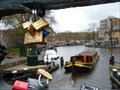 Image for Bridge over  Singelgracht canal - Amsterdam, Netherlands