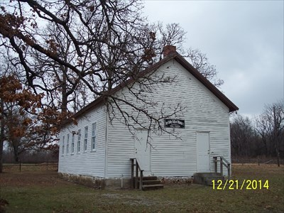 Former One-Room Dry Valley School, by MountainWoods