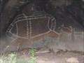 Image for Bunjil Shelter Rock Art - Black Range Scenic reserve, Victoria