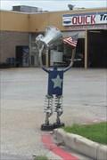 Image for Patriotic Muffler Man -- Quick Transmissions, Terrell TX