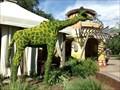 Image for Giraffe - Topiarie - Busch Gardens - Tampa Bay, Florida.