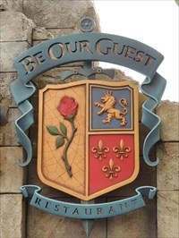 Be Our Guest - Beauty & the Beast - Florida, USA.