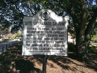 On the campus of the University of South Carolina in Columbia SC