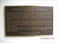 Image for Los Angeles Union Passenger Terminal E Clampus Vitus marker