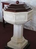 Image for Baptismal Font - Frederick Evangelical Lutheran Church - Charlotte Amalie, St. Thomas, US Virgin Islands