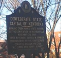 Image for Confederate State Capital of Kentucky - Bowling Green, KY