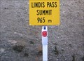 Image for Lindis Pass - 965 metres. South Island, New Zealand.