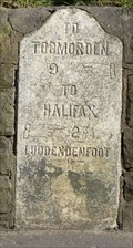 Image for Milestone - Burnley Road, Luddenfoot, Yorkshire, UK.