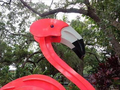 Pink Flamingo - Kinetic Art
