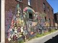 Image for Kosa Rara mural by Pin8 - Turners Falls, Massachusetts  USA