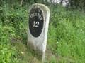 Image for Lancaster Canal 12 Mile Milestone - Bilsborrow, UK