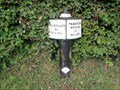 Image for Trent & Mersey Canal Milepost - Broken Cross, UK