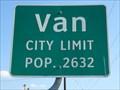 Image for Van, TX - Population 2632