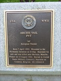 Image for PVT Archie Vail - Bainbridge, NY