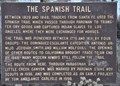 Image for The Spanish Trail ~ Parowan, Utah