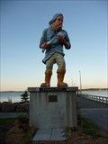 Image for Town X Fisherman Statue - Eastport ME