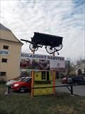 Image for Wagon as advertisement, Prague, CZ