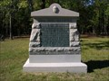 Image for 36th Ohio Infantry Monument ~ Chickamauga Georgia