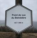 Image for Point de vue du Belvédère. Wellin, Belgique. 335 m.