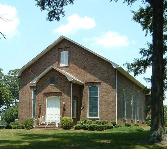 The Stainback Organization: Cross Roads Presbyterian Church And Cemetery And Stainback