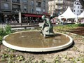Image for Girl with Turtle Fountain - Strasbourg, France, Alsace