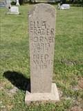 Image for Ella Frazier - Burneyville Cemetery - Burneyville, OK