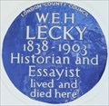 Image for W E H Lecky - Onslow Gardens, London, UK