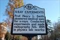 Image for X-Ray Experiments - Davidson, North Carolina