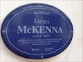 Image for La Plaque Bleue de James McKenna - Québec, Québec, Canada